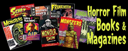 Horror Film Books and Magazines