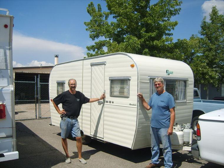 new aluminum on vintage trailer - RepairingYesterdaysTrailers