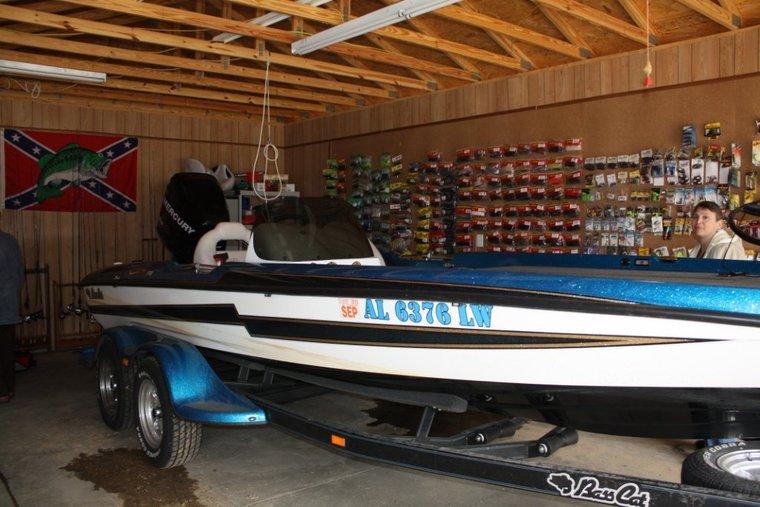 Garage Boat Storage Ideas