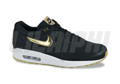 timeless design 0ec91 fb736 Air Max 1 Premium Sp 314252-071 Black White Metallic Gold FA2008 Indie  Release   IMG