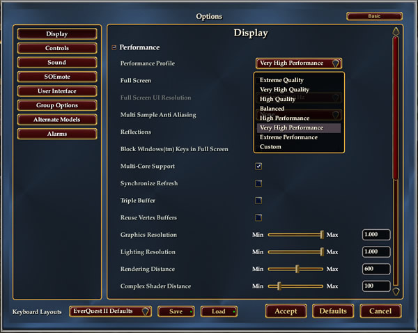 Guide to Optimizing Display Performance, Rebooted | EverQuest 2