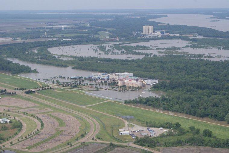 Aerial Flood Photos of Casinos - tunica-ms com Get To Know Tunica