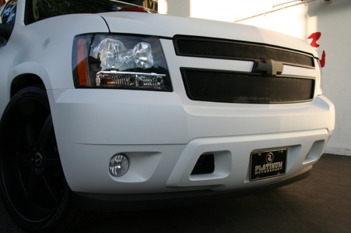 This Is Rob Dyrdek S New Tahoe Done Up By Platinum Motorsport Here Inl A I Dunno About One It Kinda Reminds Me Of White Wall With The Potential