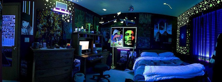 Check Out This Trippy Room!