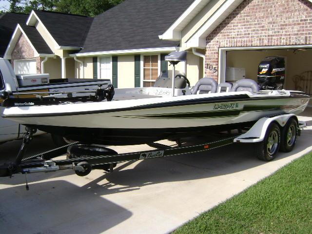 2003 Basscat Cougar FTD -----SOLD - Bass Cat Boats