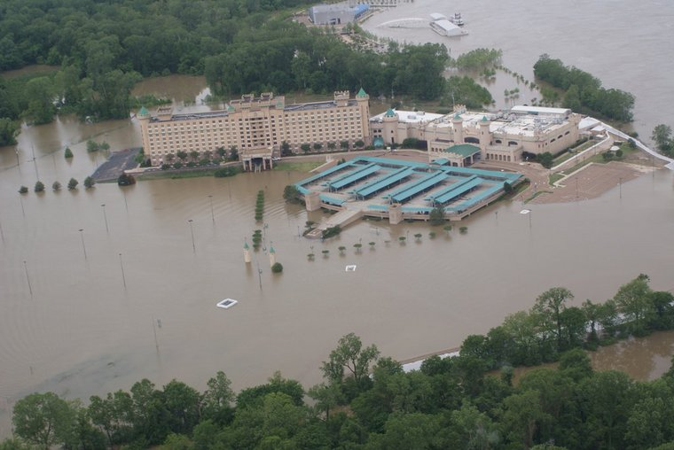 Aerial Flood Photos of Casinos - tunica-ms com Get To Know Tunica