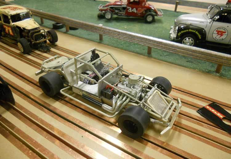converting static model kits slot car illustrated forum Used Commercial Slot Car Tracks Build Wood Slot Car Track