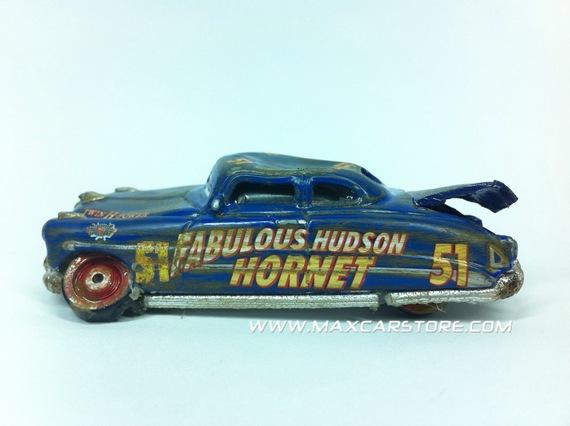 RACE DAMAGED FABULOUS HUDSON HORNET      THE MAKING OF