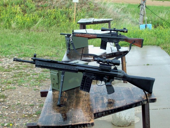 CETME Range Day With Crappy Mags
