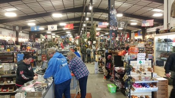 Went to Idaho and Stopped at a Army Surplus Store