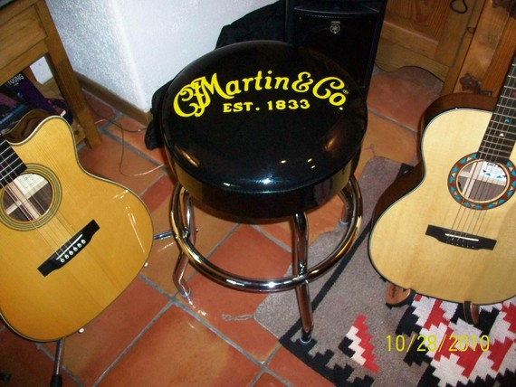 Martin Guitar Bar Stool Discontinued Collectors Item In