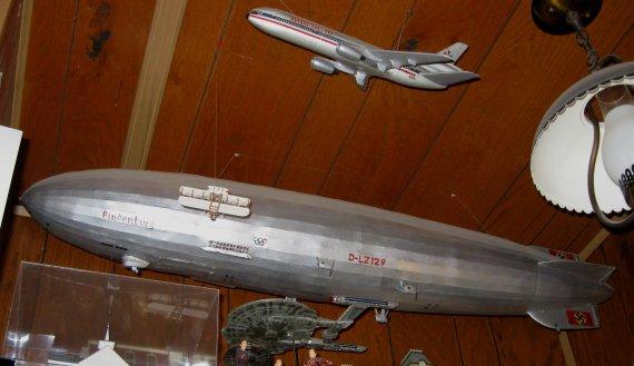 My scratch built 1972 1/200th scale Hindenburg model