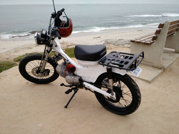 custom build on CL - Honda Trail - CT90 & CT110 Forum