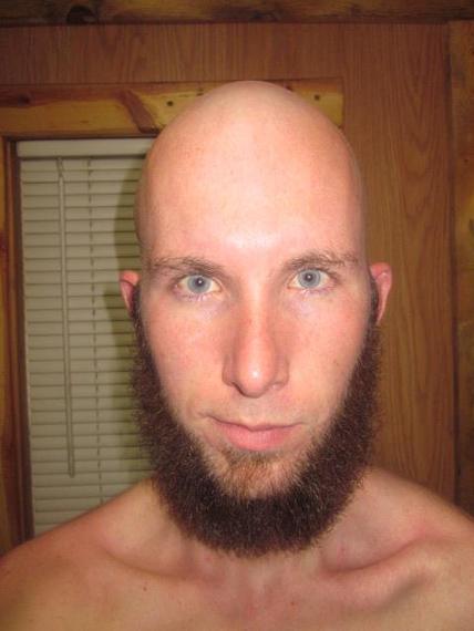 jeff gordon shaved