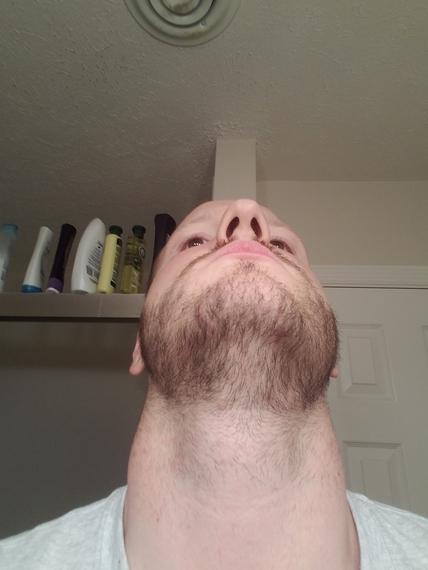 27 y/o  3 week growth  No philtrum :( - Beard Board