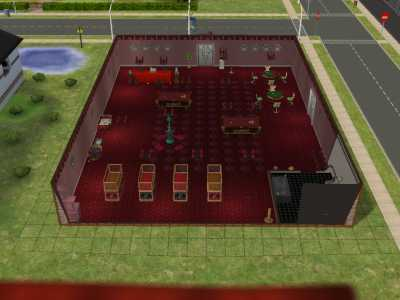 Pictures of a few community lots I built so far - Sims 2, 3