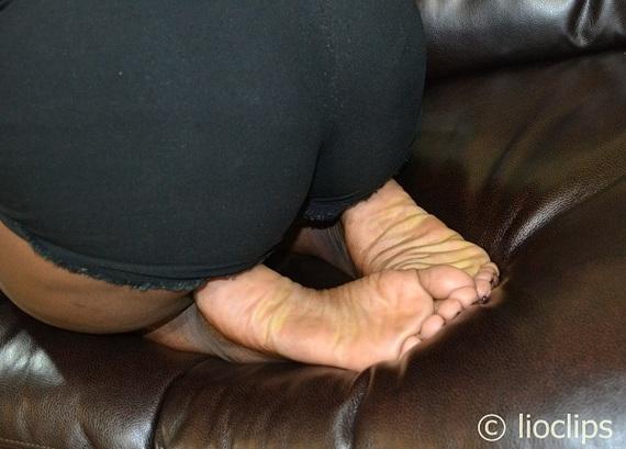 Words... Wide ebony soles
