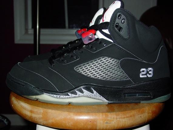 huge selection of 71580 5323a Legit Check, Jordan V Black/Metallic Silver, 2006, Size 11.5 ...