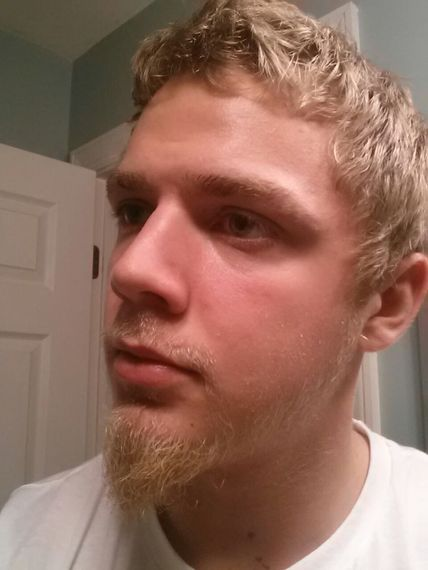Blond Facial Hair 103