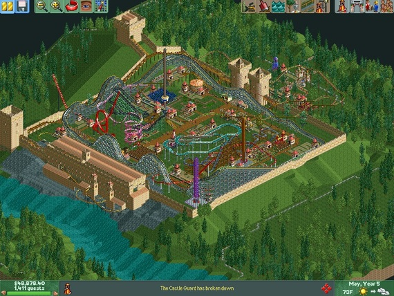 A Roller Coaster Tycoon ranking  Because why not? FINISHED