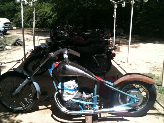 my cb750 chopper - Deuces Wild-Honda DOHC Choppers