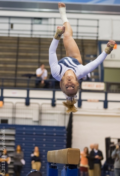 """Great """"end of beam"""" photos in College Gymnastics Board Forum"""