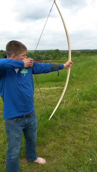 How to properly serve a bowstring? (Plus new bow!) - PaleoPlanet