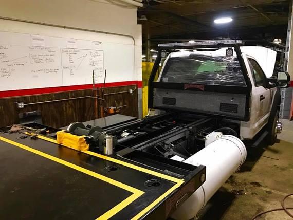 SOLD* Icom Liquid Propane Powered Demo Truck $79k - Tow411