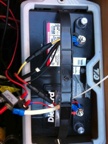 How To Wire A    Trolling       Motor    To The Batteries  impremedia