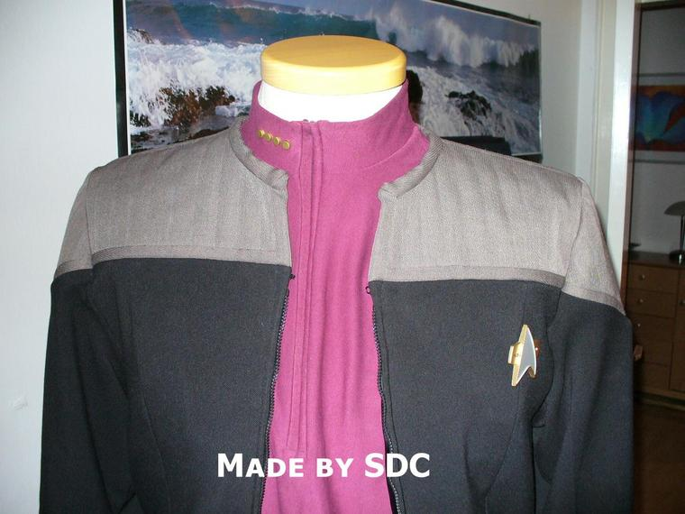 My Picard First Contact Uniform-Jacket & Divisionshirt