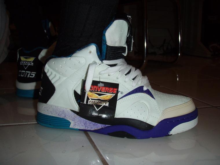 3570a9263cb Anybody Remember Larry Johnson and the Grandmama Converse Kicks - Sneaker  Talk