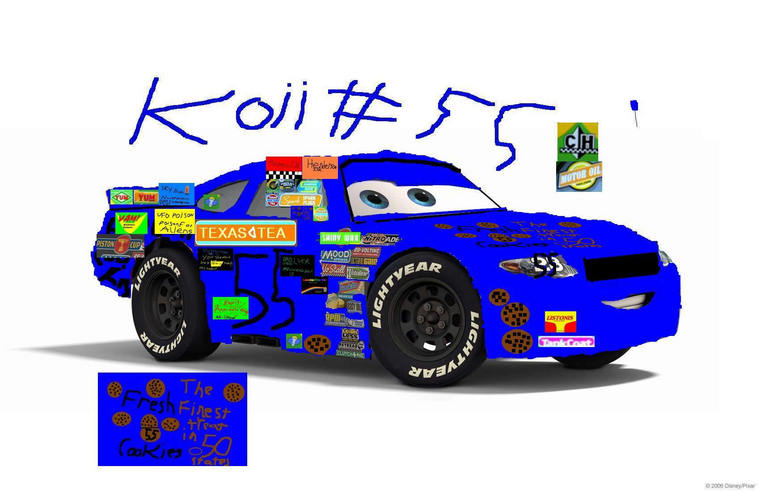 POST CUSTOM RACING SPONSOR LOGOS HERE!!! - Disney Pixar Cars