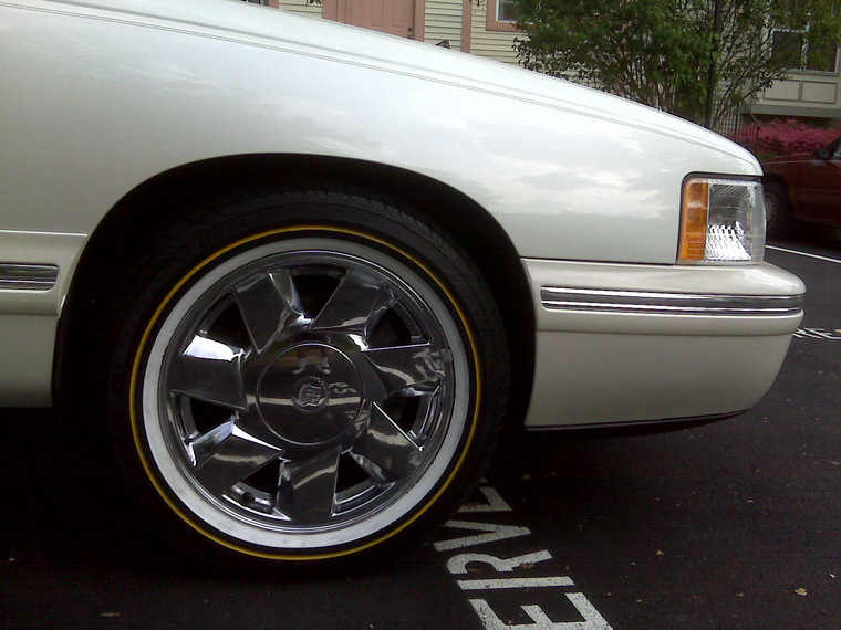 Whitewall Tires On The 2006 Current Dts