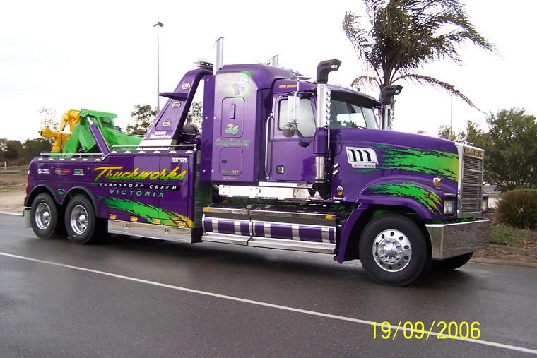 Purple Tow Truck - Best Image Truck Kusaboshi Com