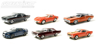 Greenlight 1 64 Muscle Car Garage R12 Auction Block R11 Available