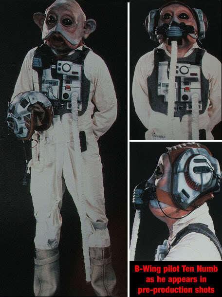 Star Wars A Wing Pilot