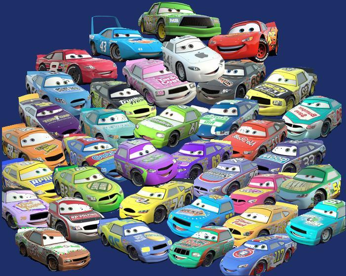 1 The Rookie Page 2 Disney Pixar Cars The Toys