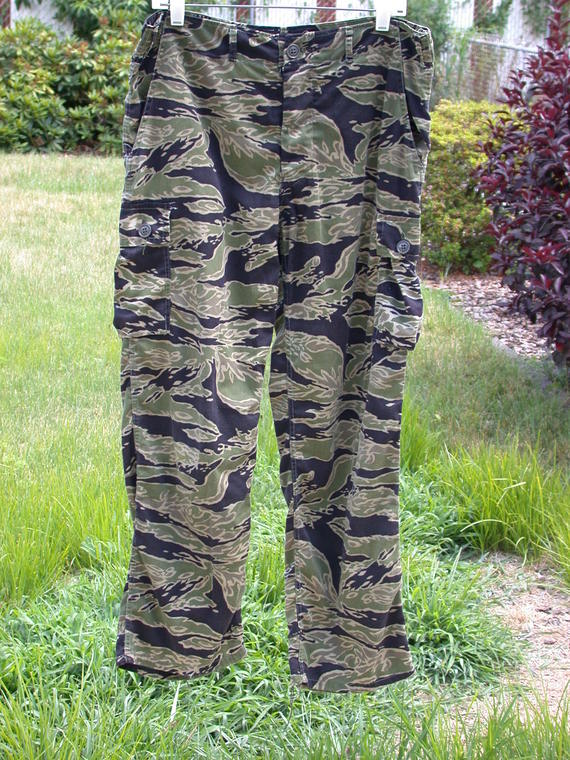 M Mil-Tec EE.UU Jungle Pantalones Vietnam Tigre Raya Tiger Raya