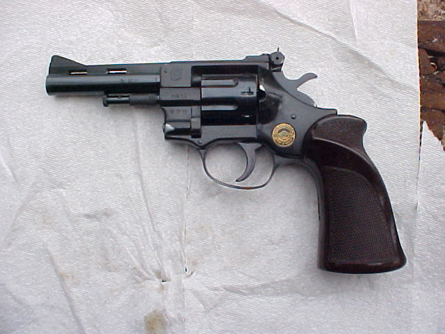 Burgo  22LR DA revolver - The Original Yesterdays Weapons
