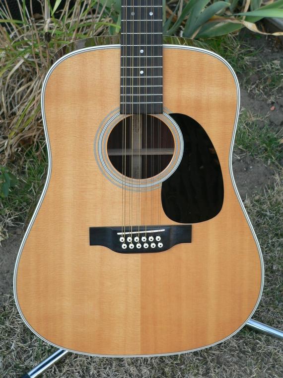 martin d12 28 12 string guitar. Black Bedroom Furniture Sets. Home Design Ideas