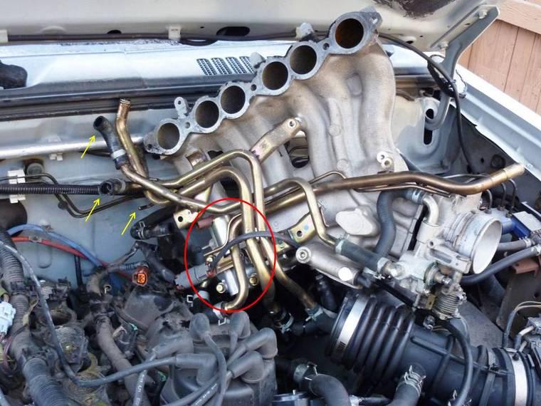 Nissan intake manifold removal