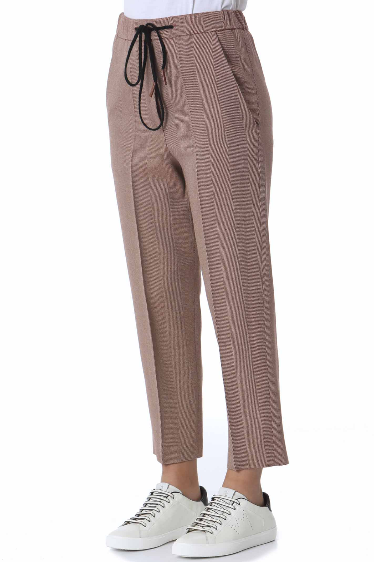 Pantalone donna a sigaretta resca shetland ALYSI   Pantaloni   151119-A1057COTTO