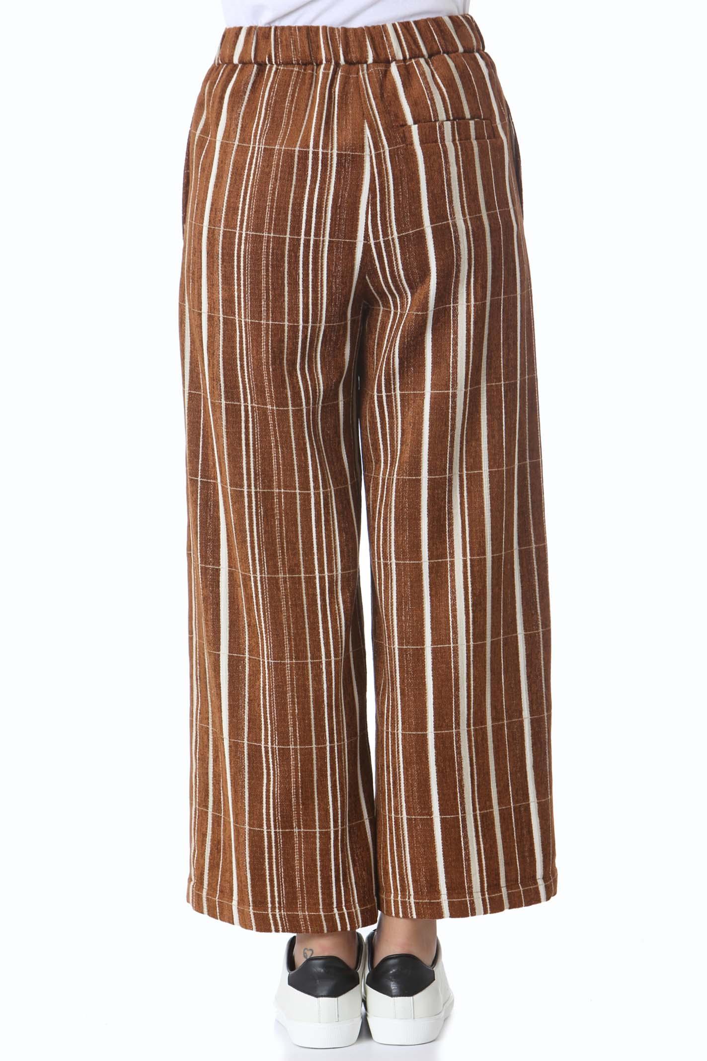 Pantalone donna stripes velvet ALYSI | Pantaloni | 151124-A1003CAR