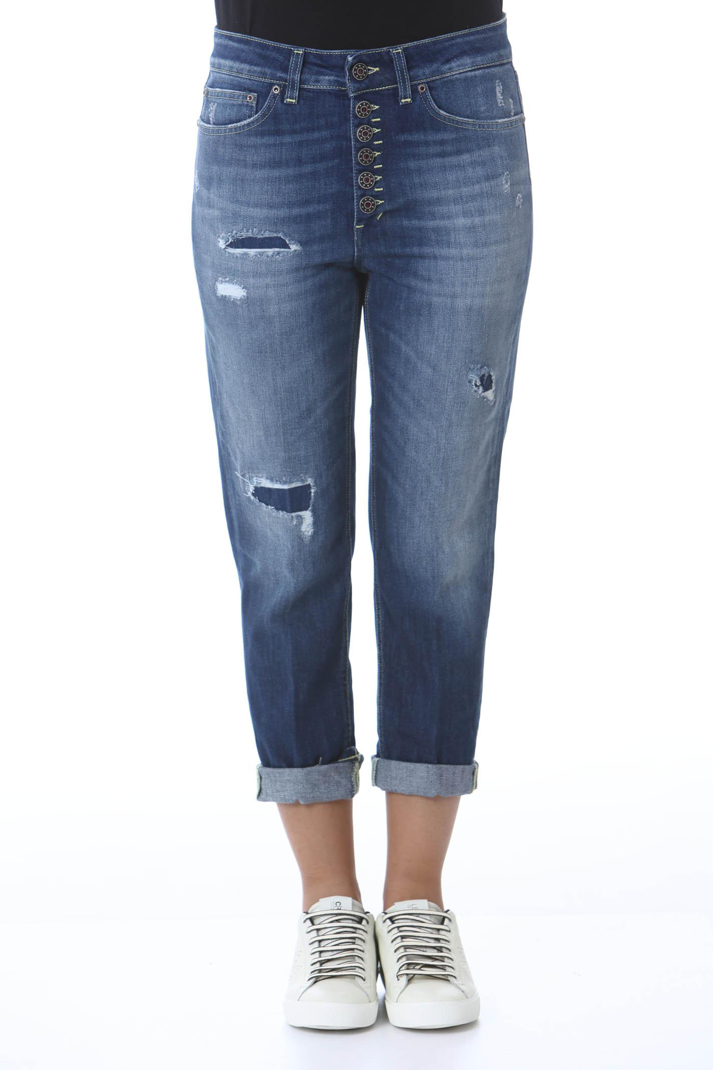 Pantalone donna Koons gioiello DON DUP | Jeans | DP268BDS0107BQ8800