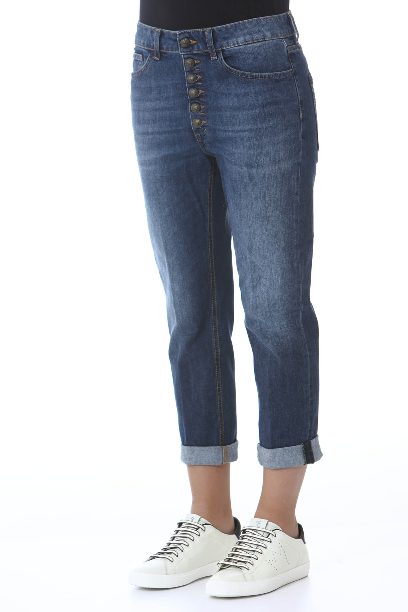 Pantalone donna Koons gioiello DON DUP   Jeans   DP268BDS0257BQ1800