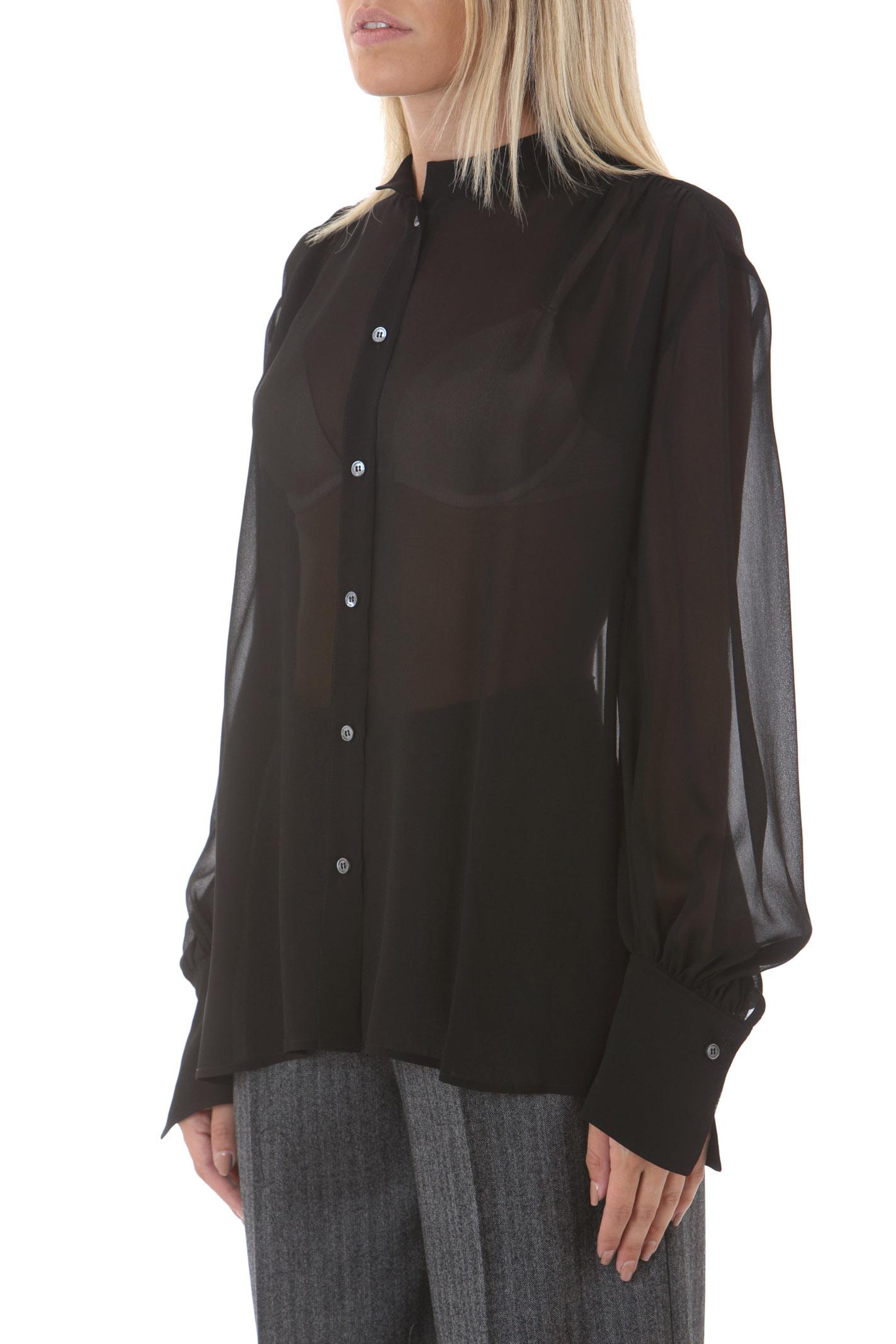 Top donna con arricci sulle spalle GRIFONI | Camicie | GL220071/8003