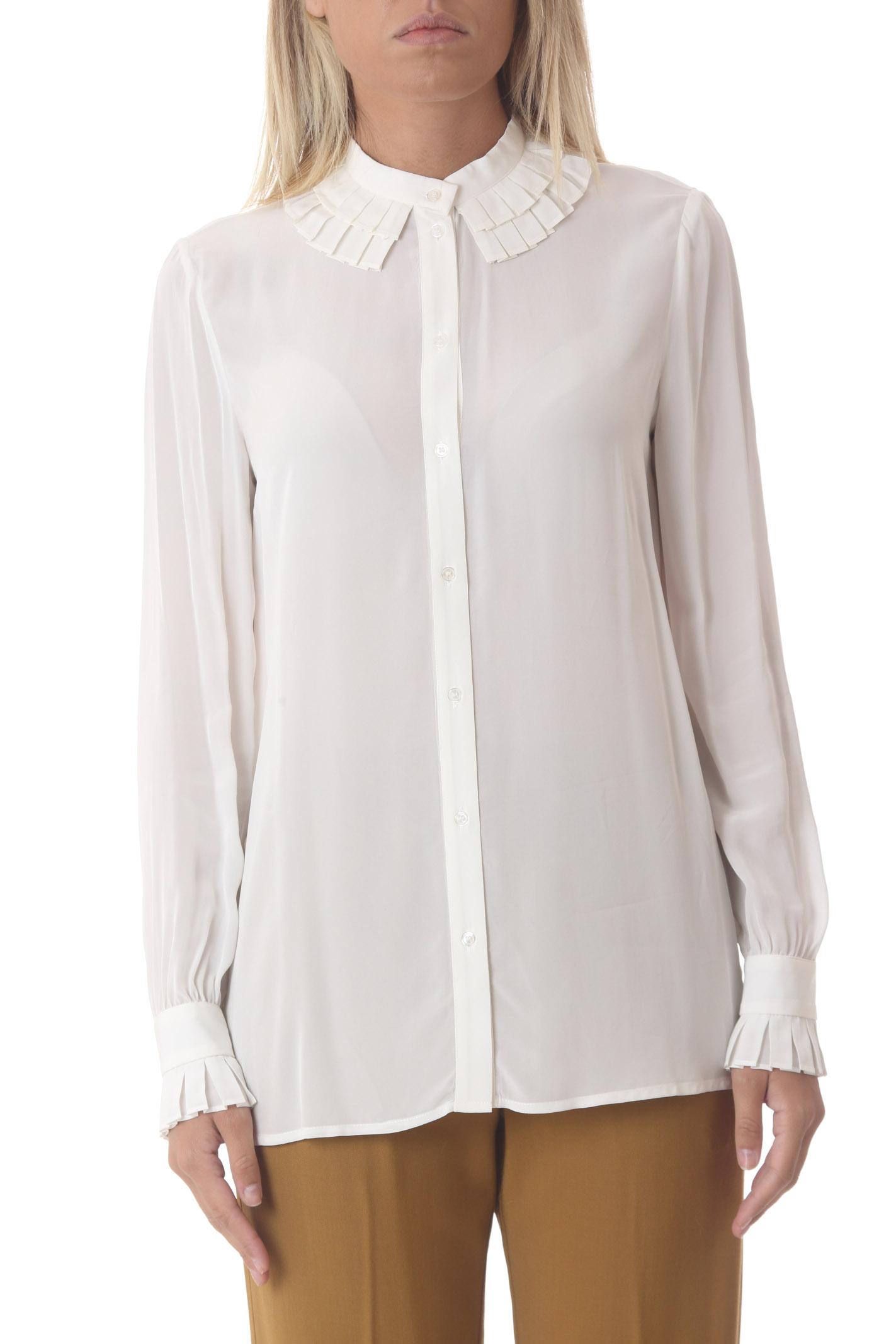 Camicia donna Creole in crepe PINKO | Camicie | 1G16F4-Y6ZVZ14