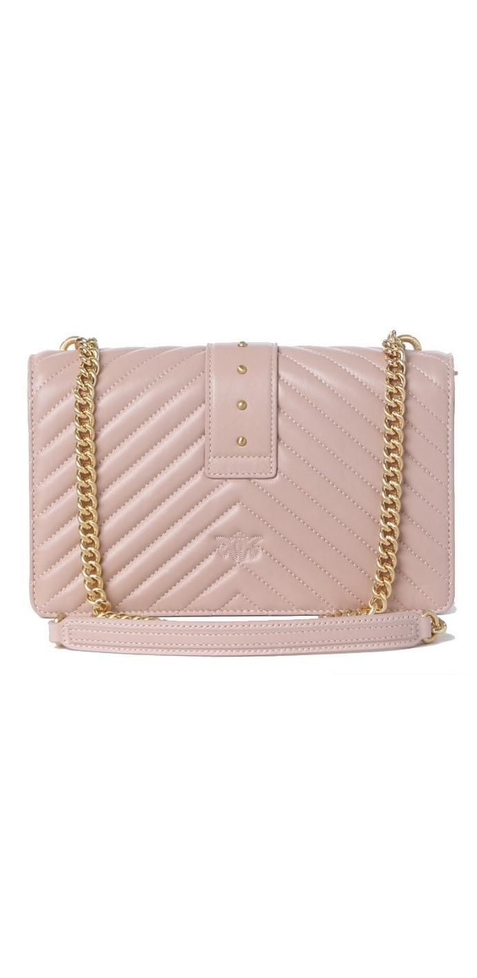 Borsa donna love classic icon v quilt 3 cl PINKO | Borse | 1P22BT-Y7FYO81
