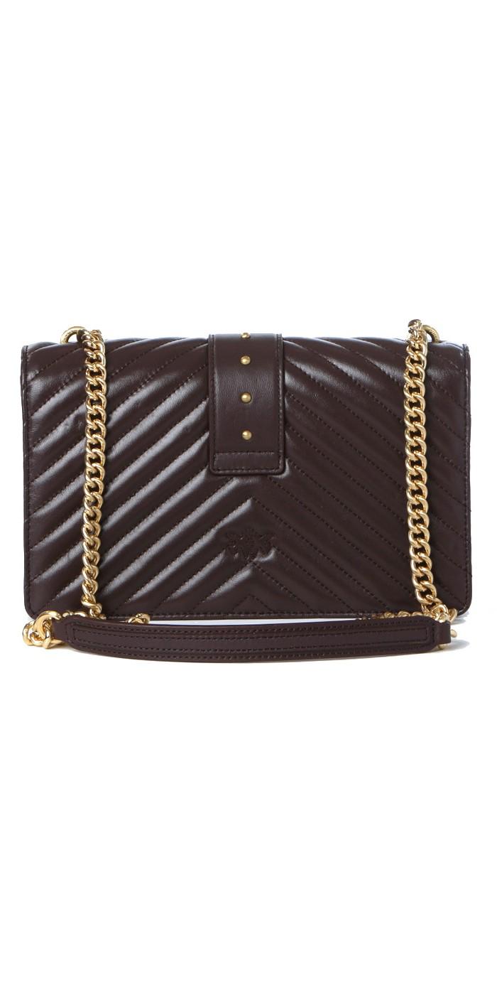 Borsa donna love classic icon v quilt 3 cl PINKO   Borse   1P22BT-Y7FYR64