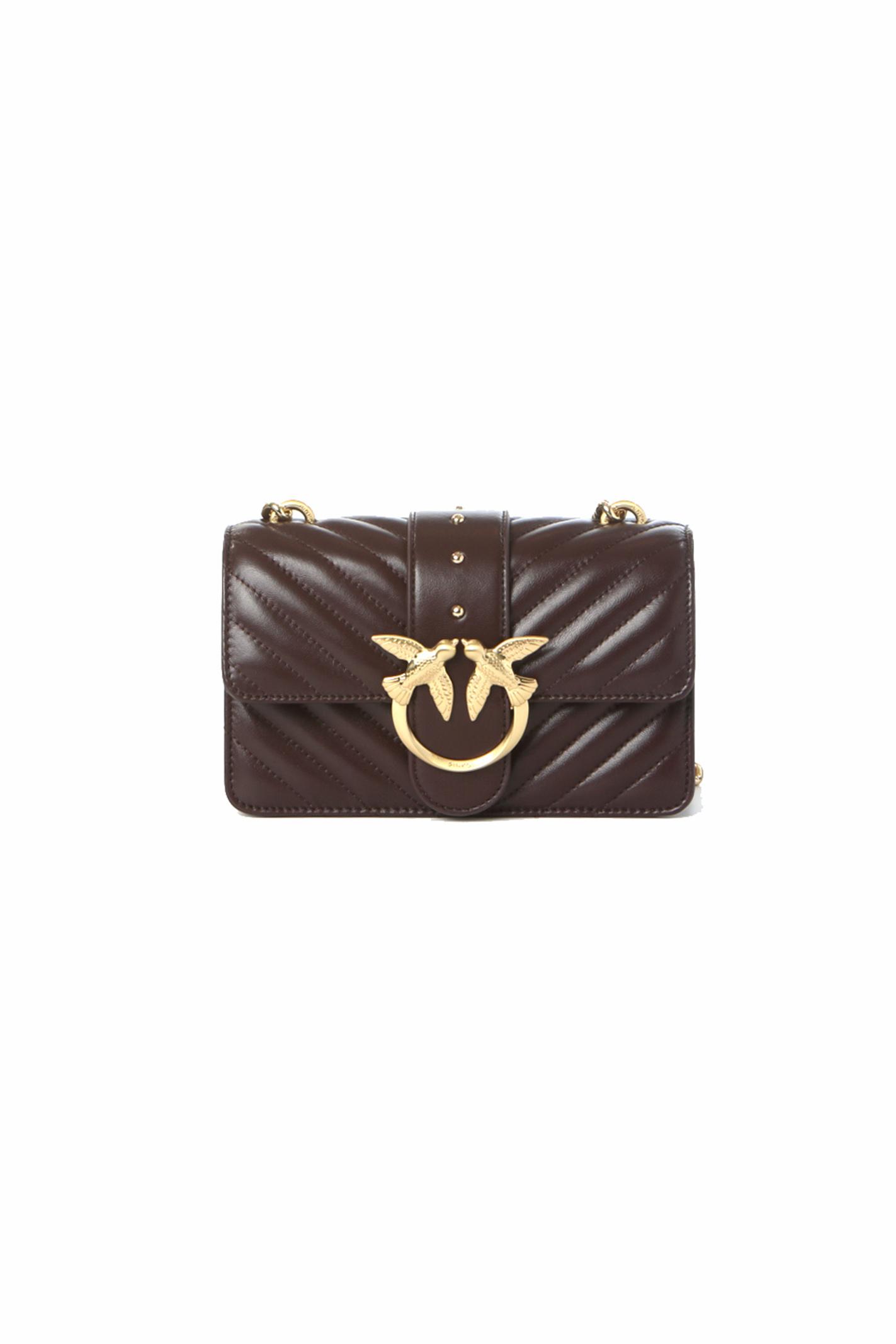 Borsa donna love mini icon quilt 3 cl PINKO   Borse   1P22BW-Y7FYR64